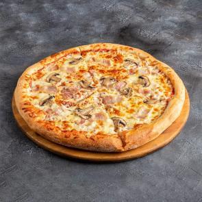Пицца Бекон грибы
